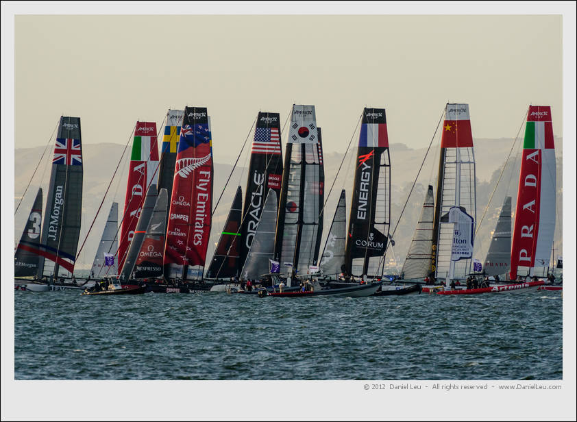 America's Cup World Series – San Francisco (2), day 2
