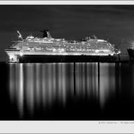 Carnival Splendor in Dry Dock