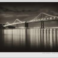 Bay Bridge with Reflection