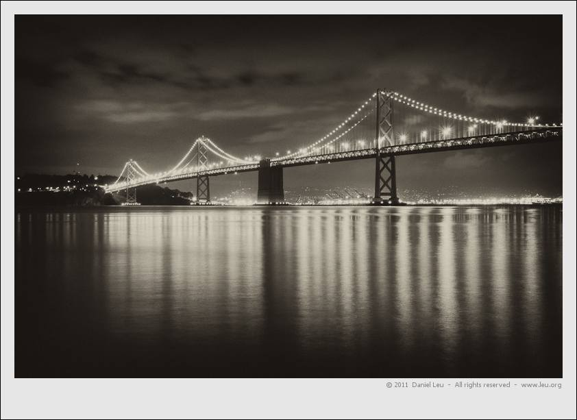 Bay Bridge with Reflection