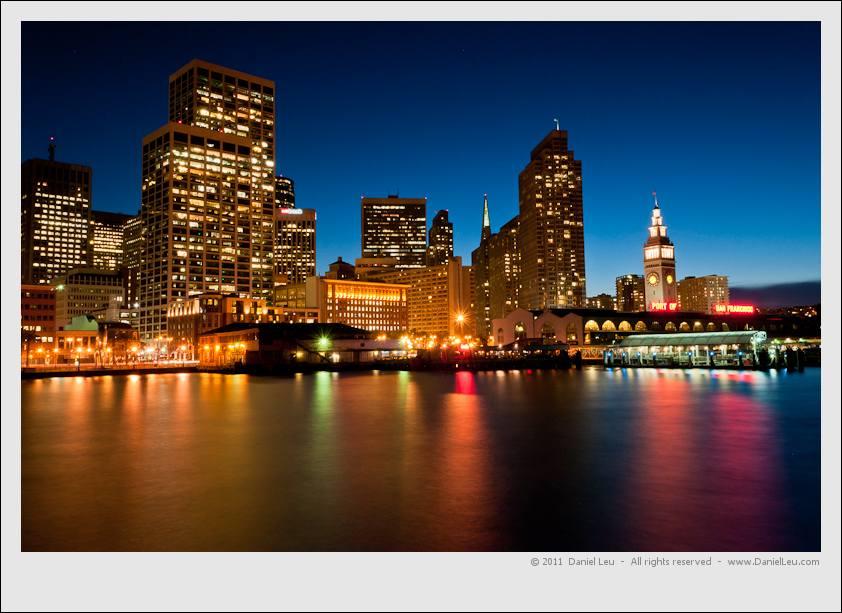San Francisco Skyline with Reflection