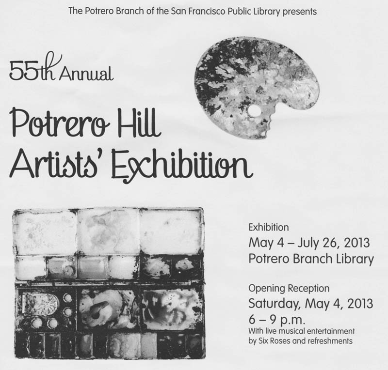 55th annual potrero hill artist exhibition