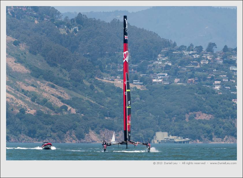 Emirates Team New Zealand America's Cup Training –– 5/23/2013