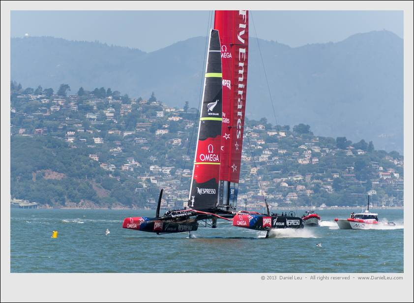 Emirates Team New Zealand America's Cup Training – 5/23/2013