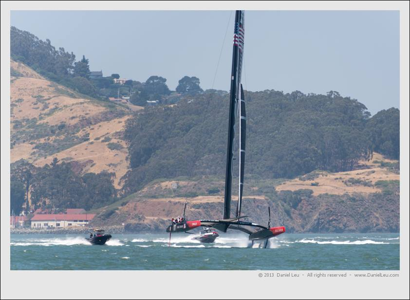Oracle Team USA America's Cup Training – 5/23/2013