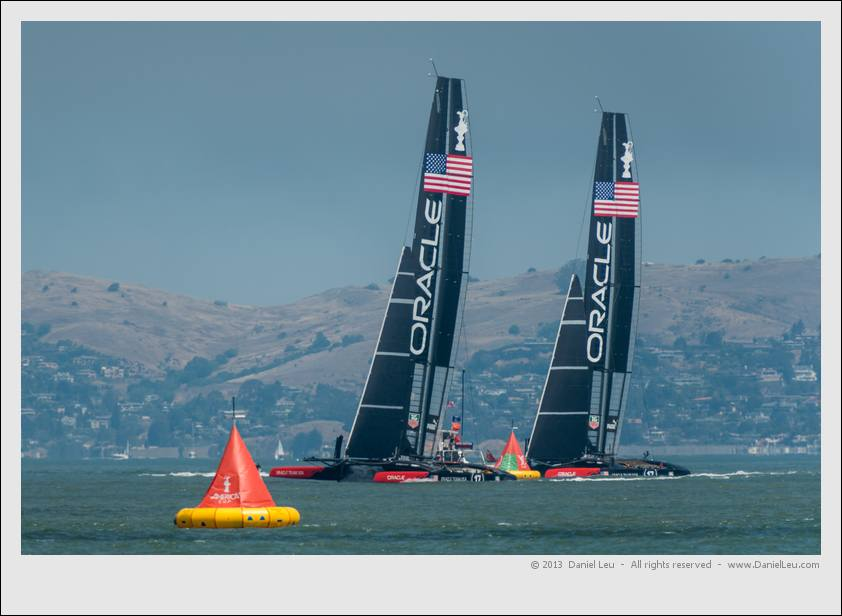 Oracle Team USA America's Cup Training – 7/9/2013