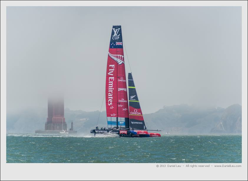 Louis Vuitton Cup - RR1, Race 2