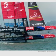 Louis Vuitton Cup – RR1, Race 2