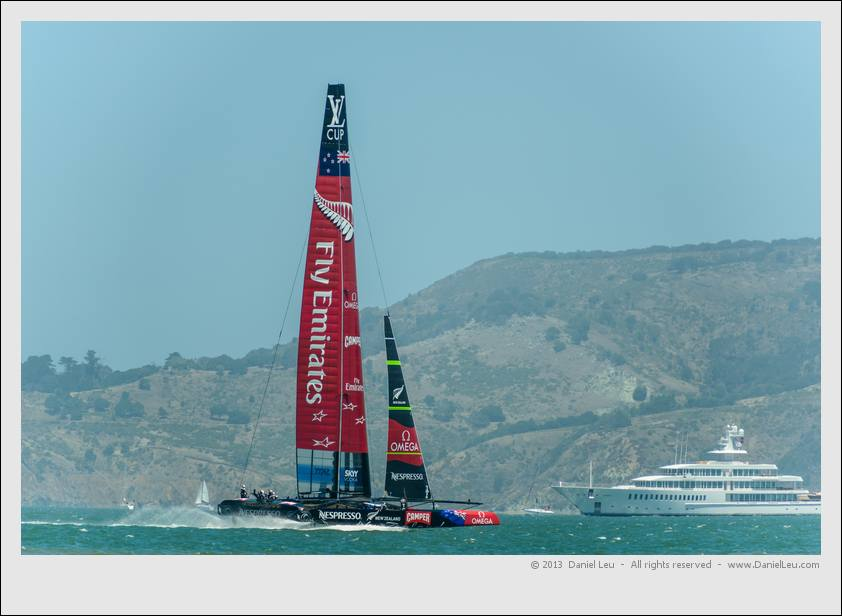 Louis Vuitton Cup - RR2, Race 1