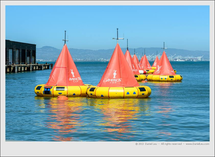 Louis Vuitton and America's Cup Buoys