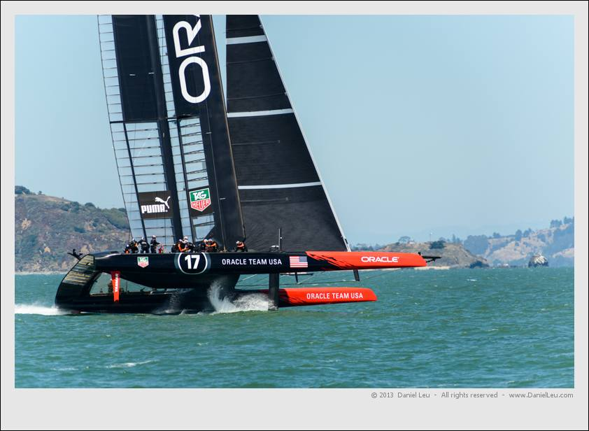 Oracle 2 practicing in the bay