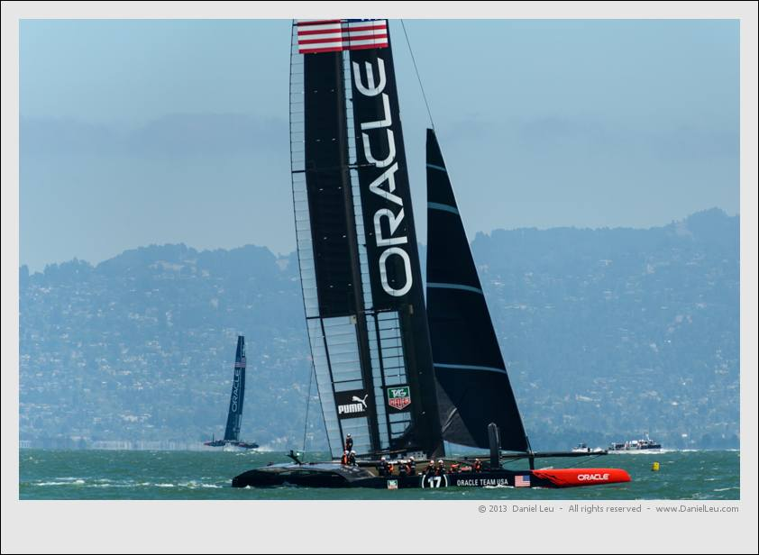 Oracle 1 taking a break while Oracle 2 is foiling
