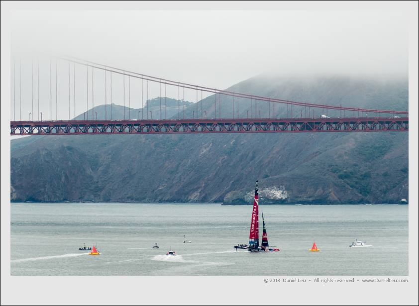 Louis Vuitton Cup - RR4, ETNZ vs LR