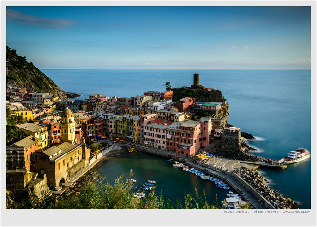 Last light on Vernazza