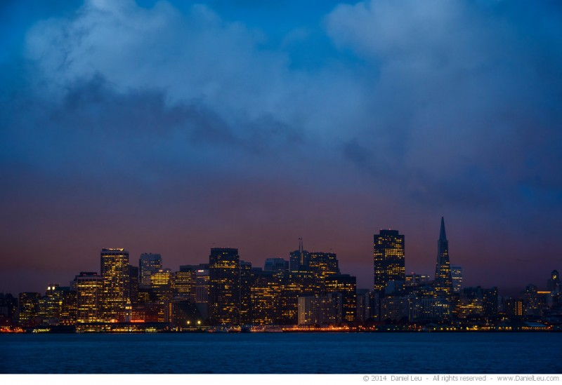 San Francisco Skyline at Dawn