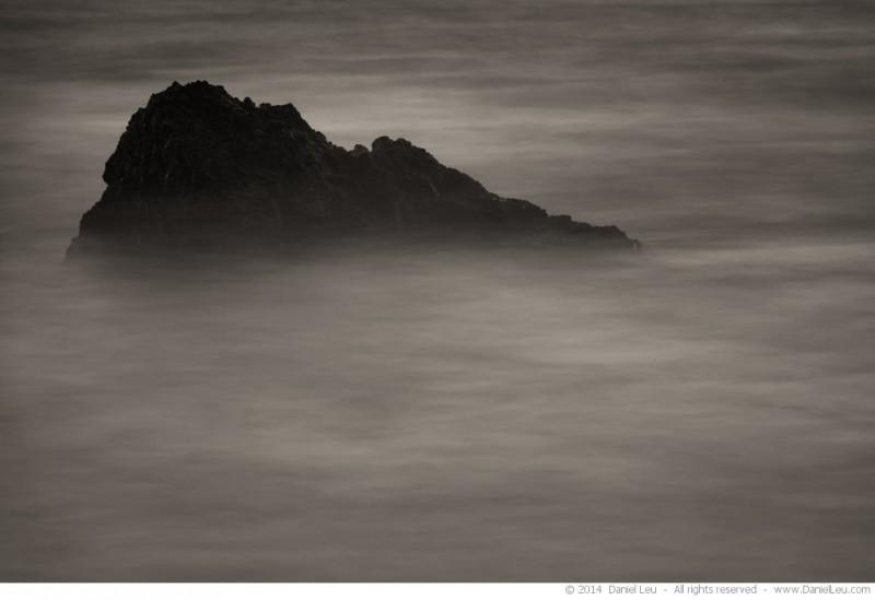 Rock at the ocean 1