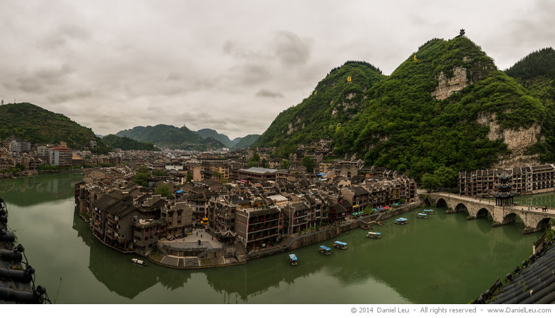 Panorama of Zhenyuan