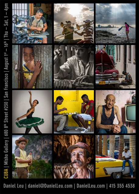 Cuba expo at Misho Gallery