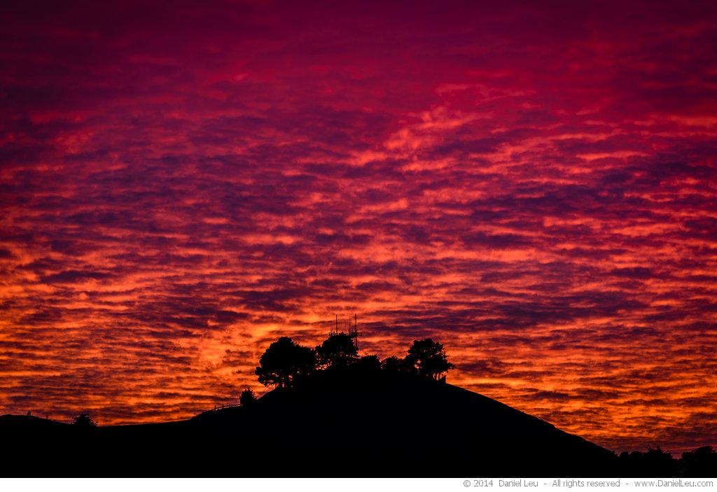 Bernal Heights at Sunset