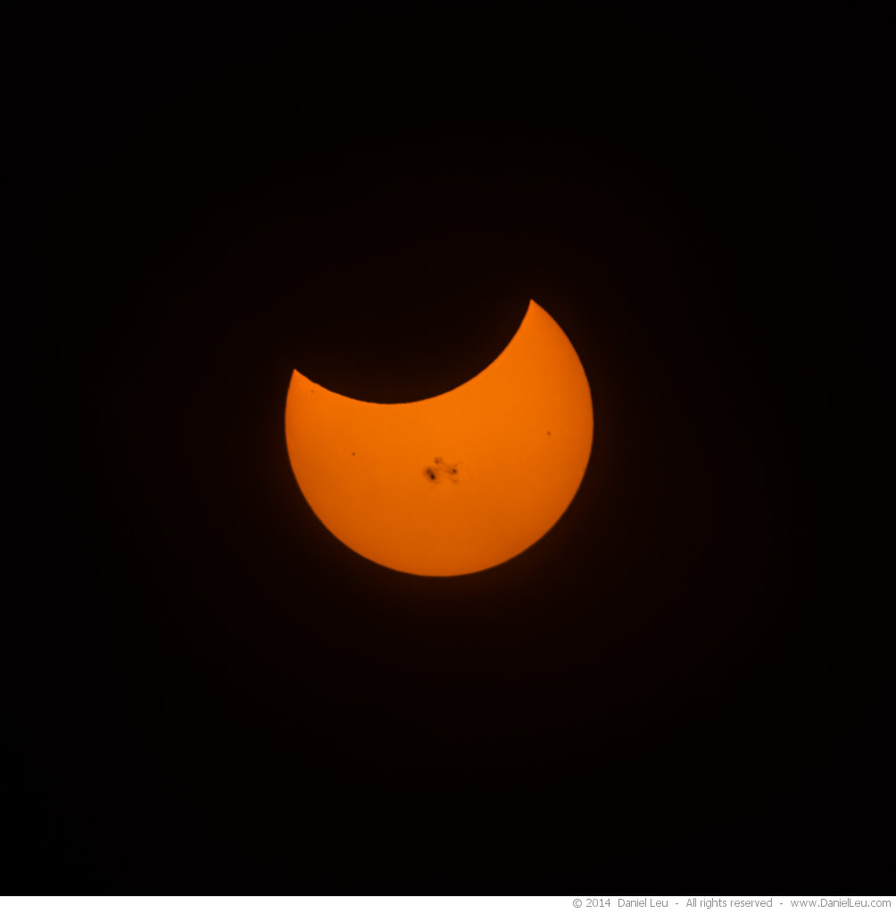 Partially Eclipsed Sun