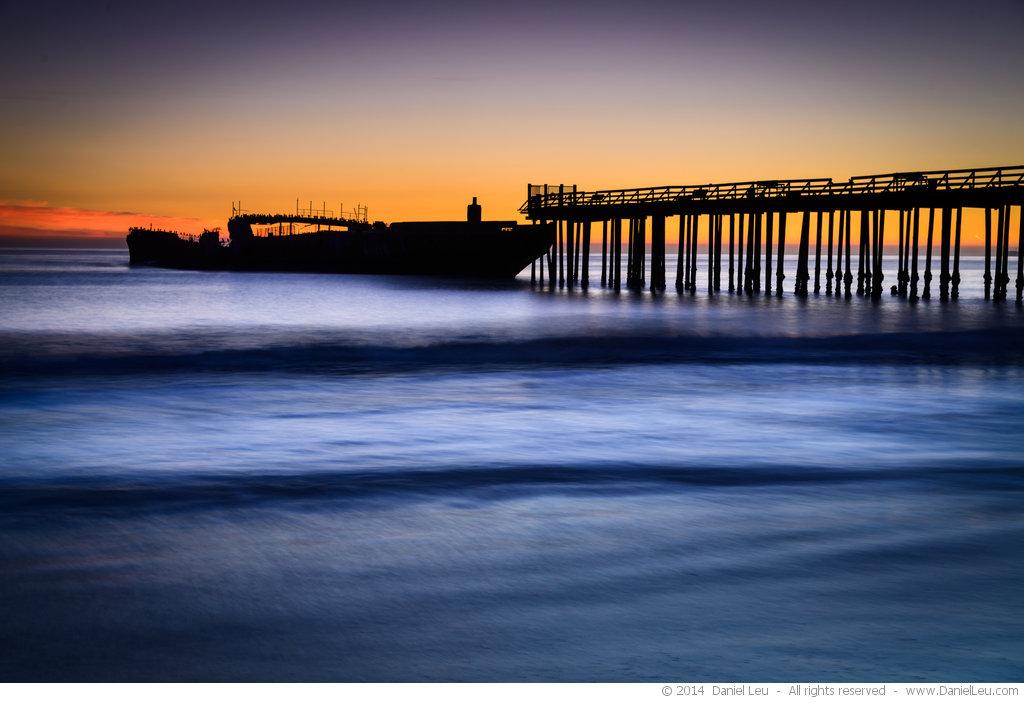 Pier with S.S. Palo Alto