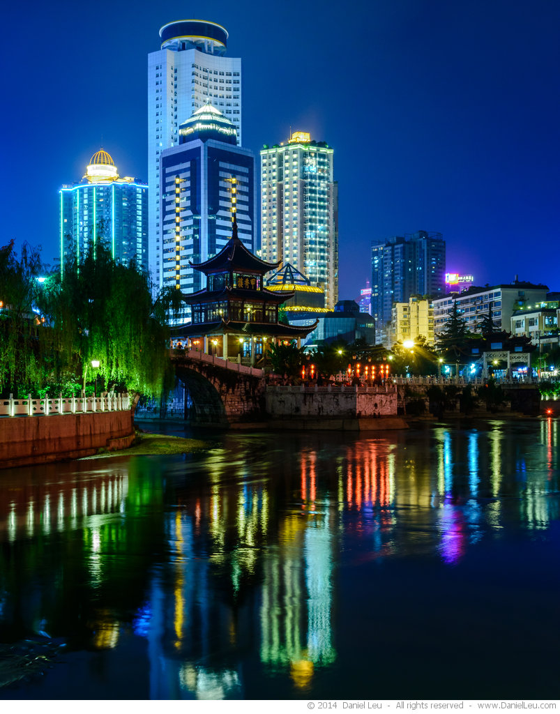 Jiaxiu Tower at night #2