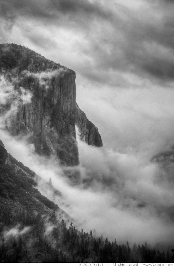 Foggy El Capitan