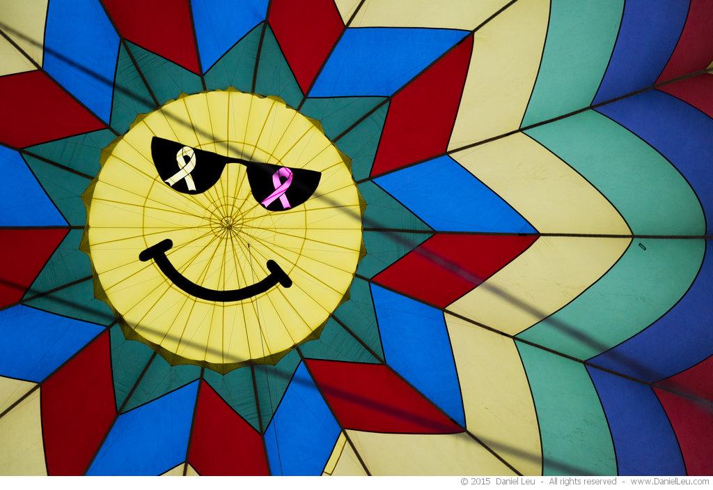 Free Spirit's parachute vent smiley