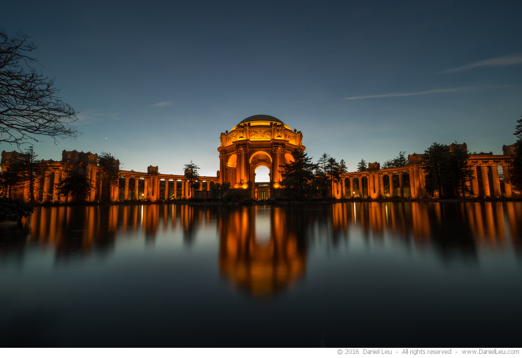 Palace of Fine Arts with Reflection