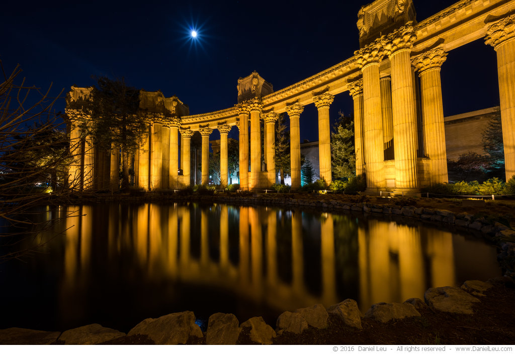 Palace of Fine Arts Wing with Moon