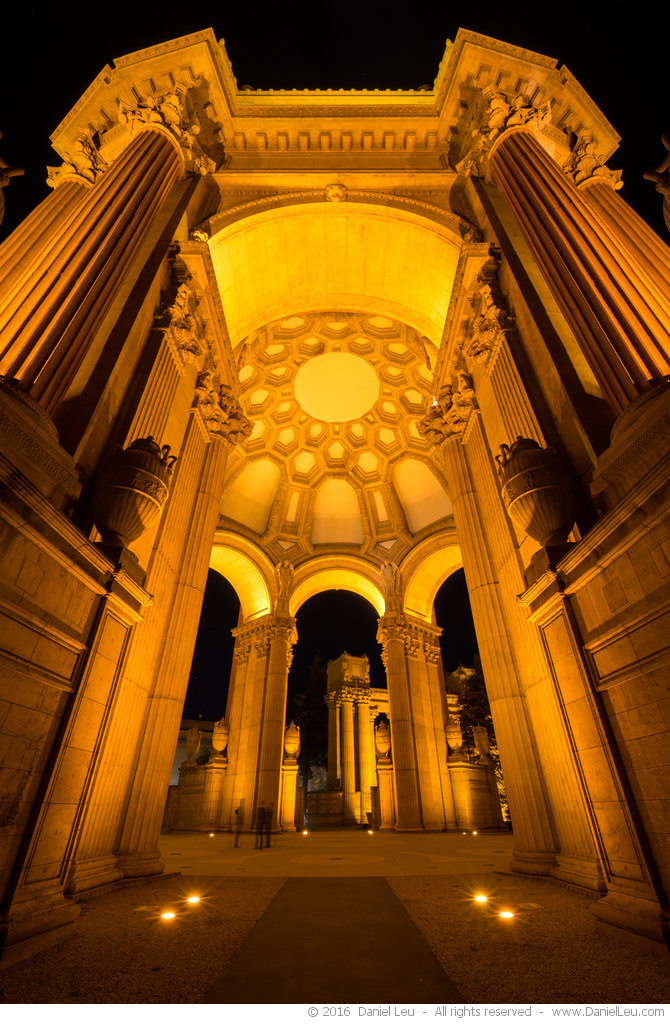 Rotunda at Night at Palace of Fine Arts, #2