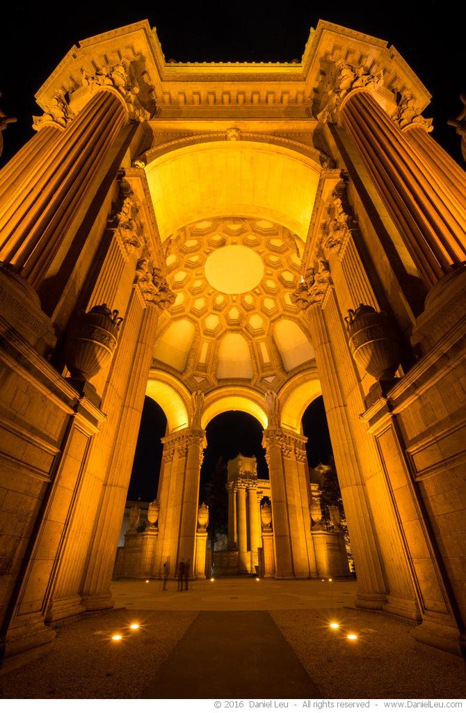 Rotunda at Night at Palace of Fine Arts, #2