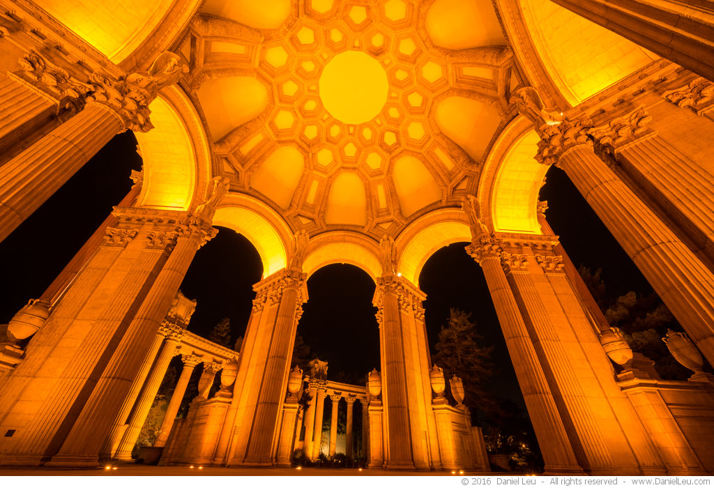 Rotunda at Night at Palace of Fine Arts, #3
