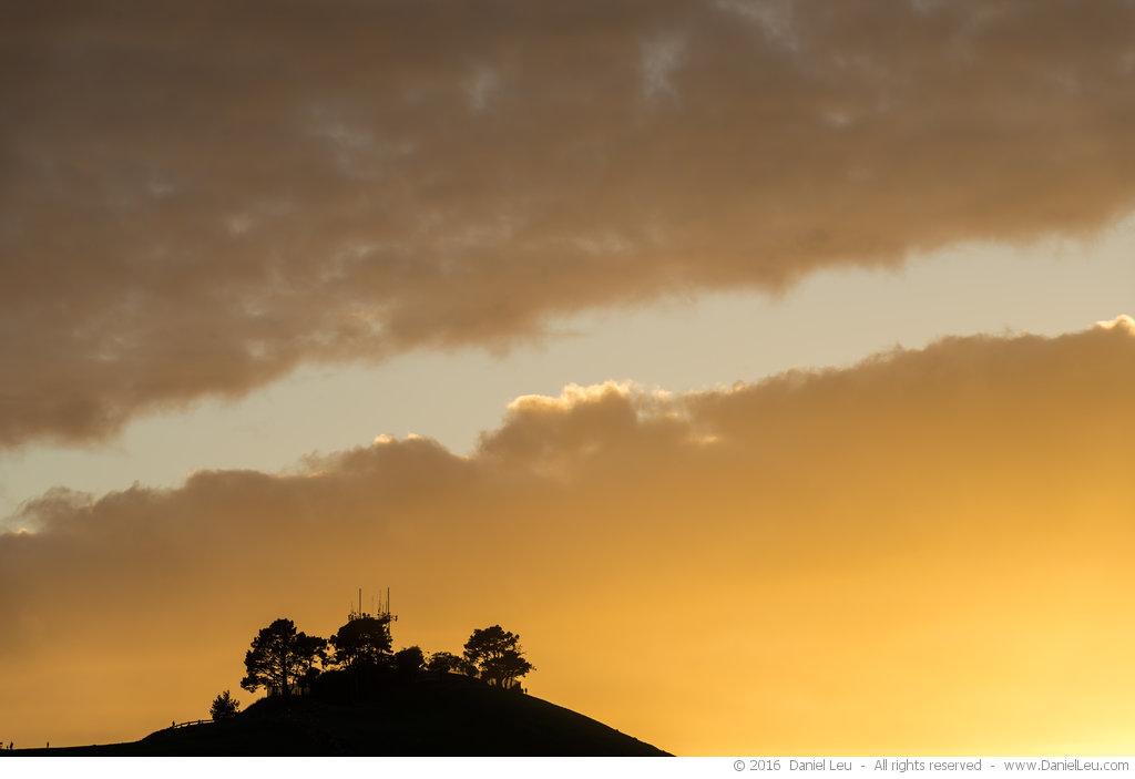 Golden Sky over Bernal Heights