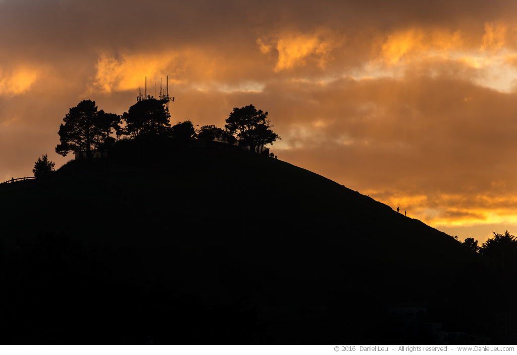 Bernal Heights Silhouette