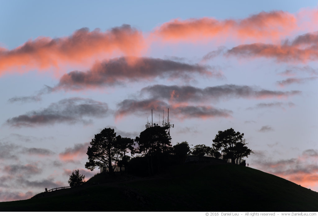 Glowing Clouds over Bernal Heights #3