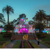 San Francisco Conservatory of Flowers Illumination #2