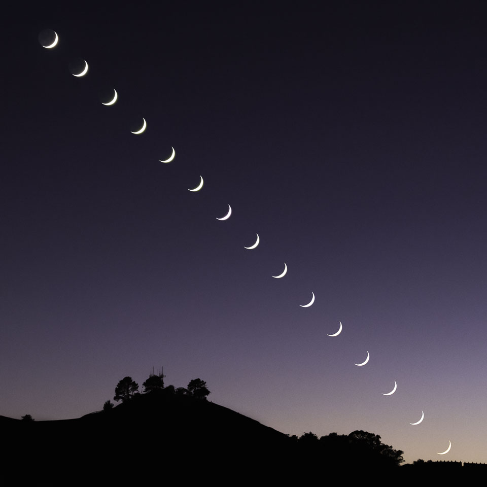 Crescent Moon Sequence over Bernal Heights