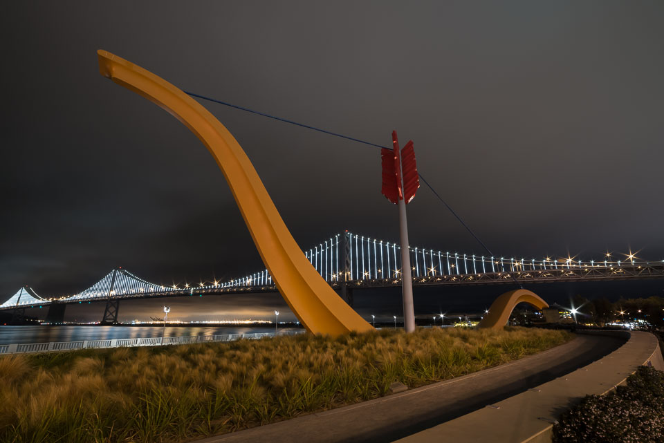 Cupid's Span with The Bay Lights