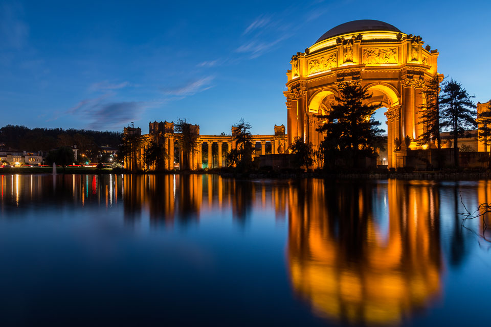 Rotunda with Reflection of Palace of Fine Arts