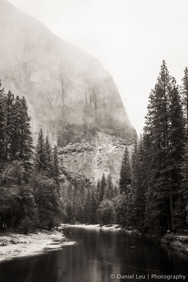 Merced River with El Capitan, Yosemite National Park