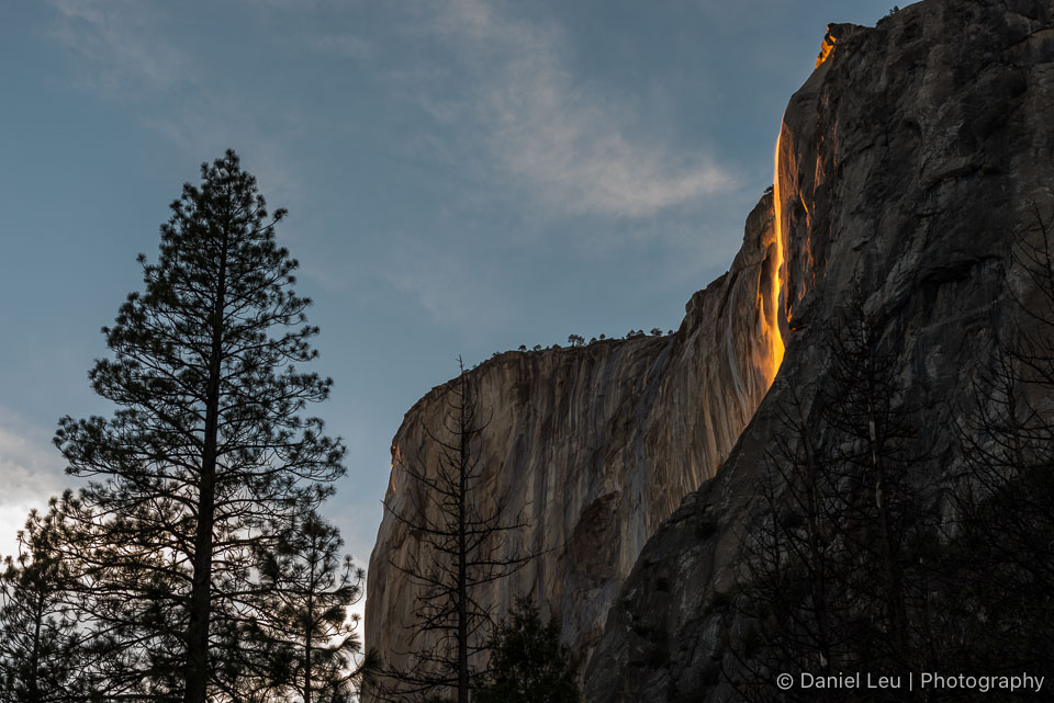 El Capitan with Horsetail Fall