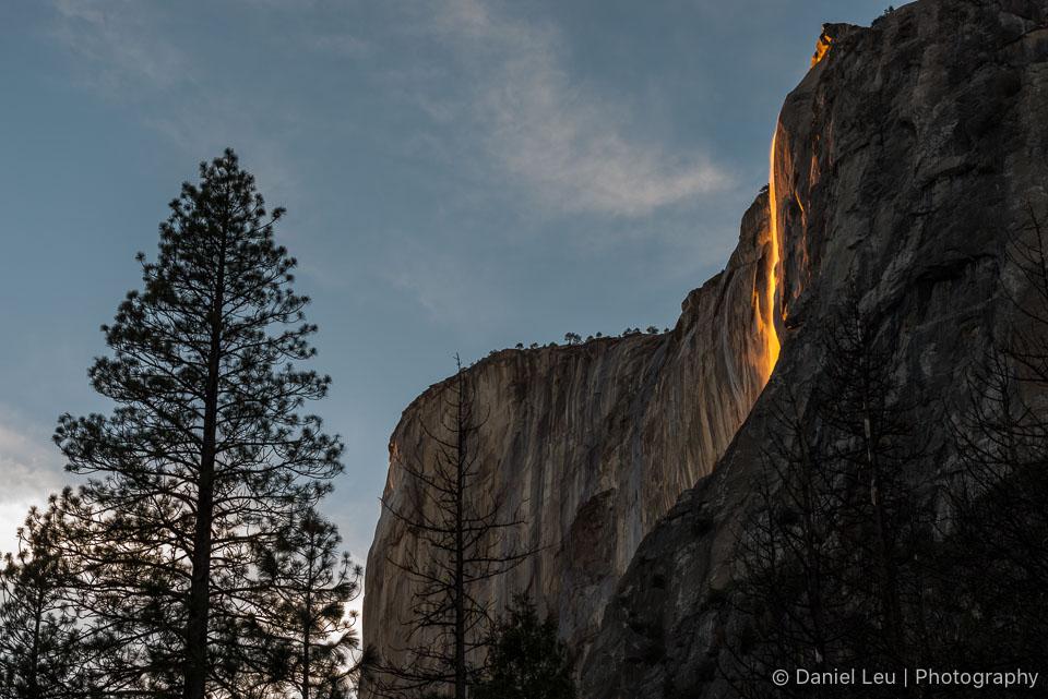El Capitan with Horsetail Fall