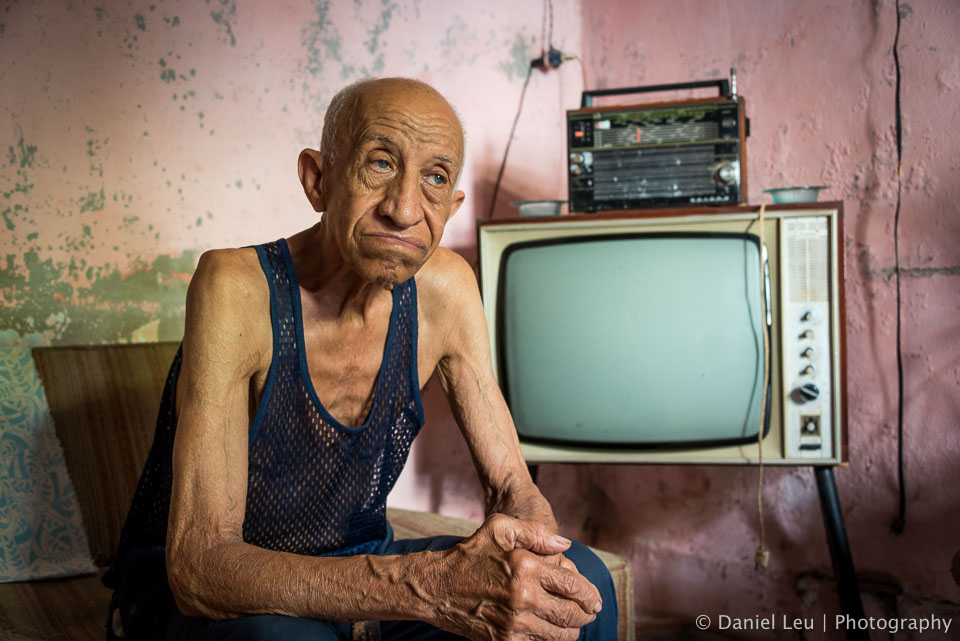 The Old Man and the TV