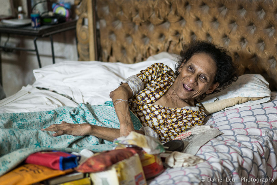 The sick grandma