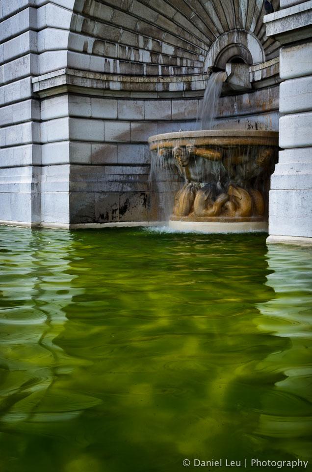 Fountain, Basilique du Sacré-Cœur, Paris
