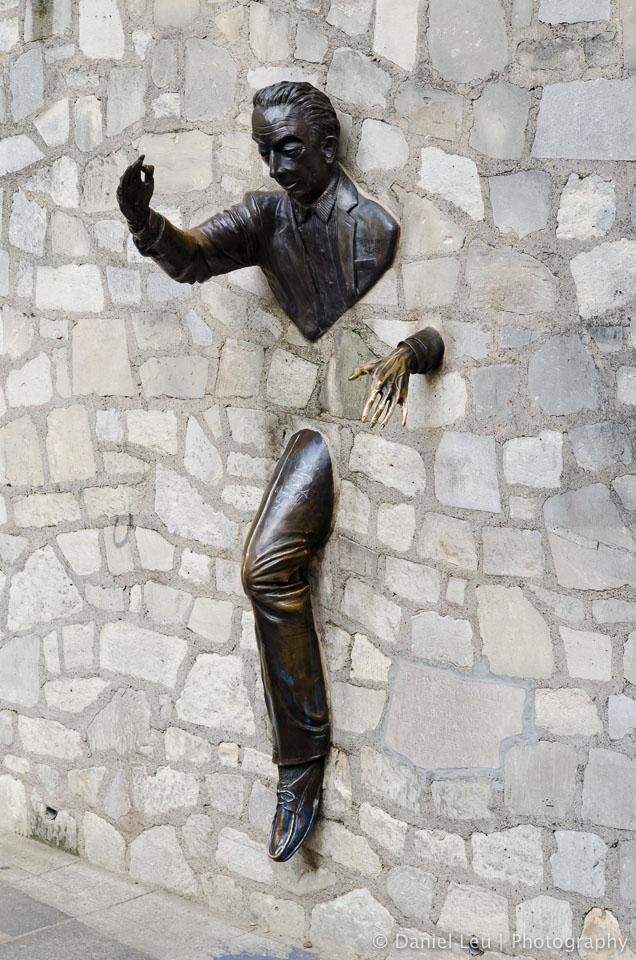 Le Passe-Muraille de Marcel Aymé, Montmartre, Paris