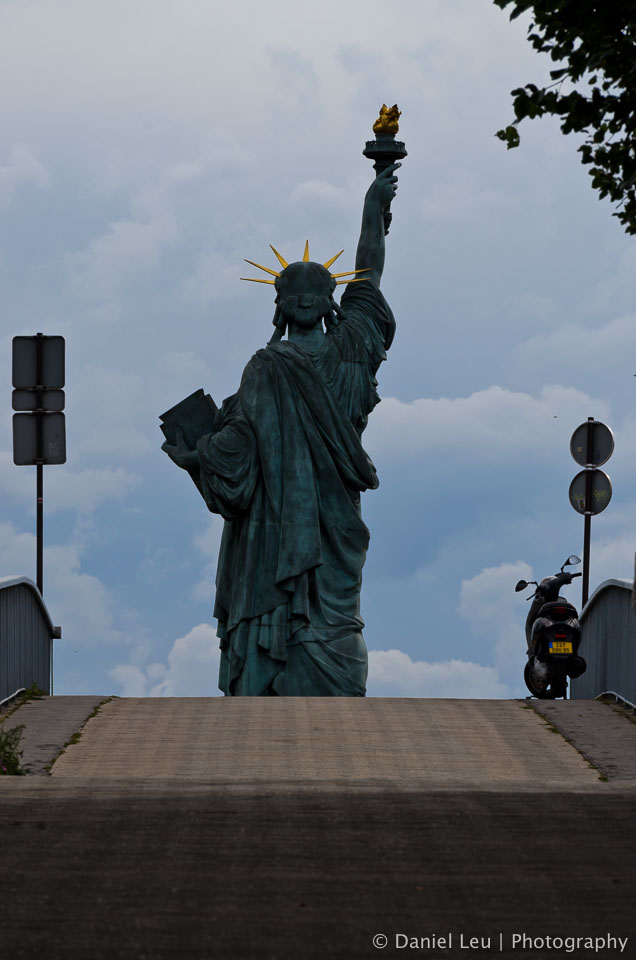 Replica of Statue of Liberty, Pont de Grenelle, Paris