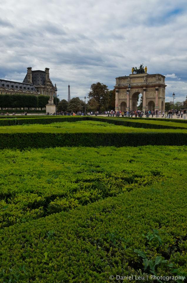 Arc de Triomphe du Carrousel, Place du Carrousel, Paris