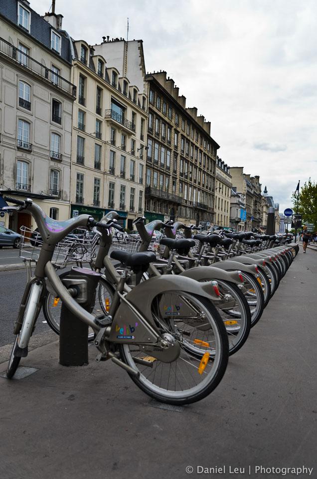 Velib, Paris